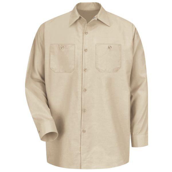 Men's Long Sleeve Industrial Work Shirt