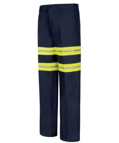 Enhanced Visibility Wrinkle-resistant Cotton Pant