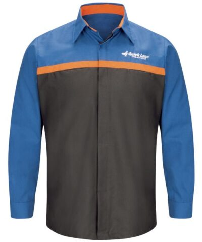 Ford Quick Lane® Technician Shirt Long Sleeve