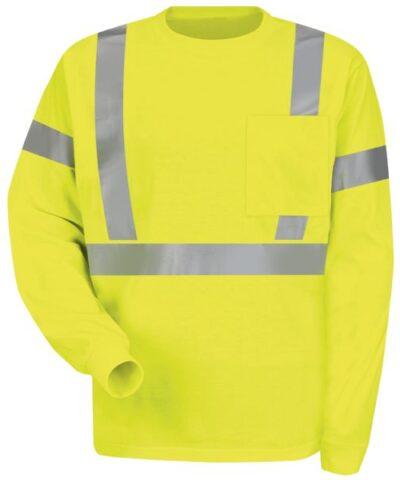 Hi-visibility Long Sleeve T-shirt – Type R, Class 2