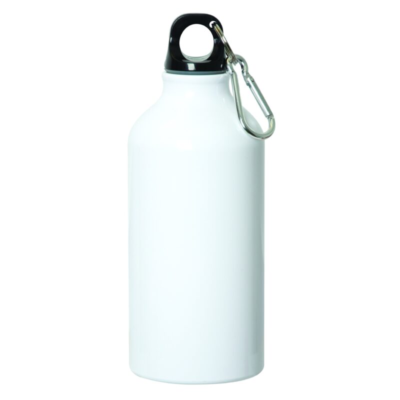 Aluminium Water Bottle With Carabiner