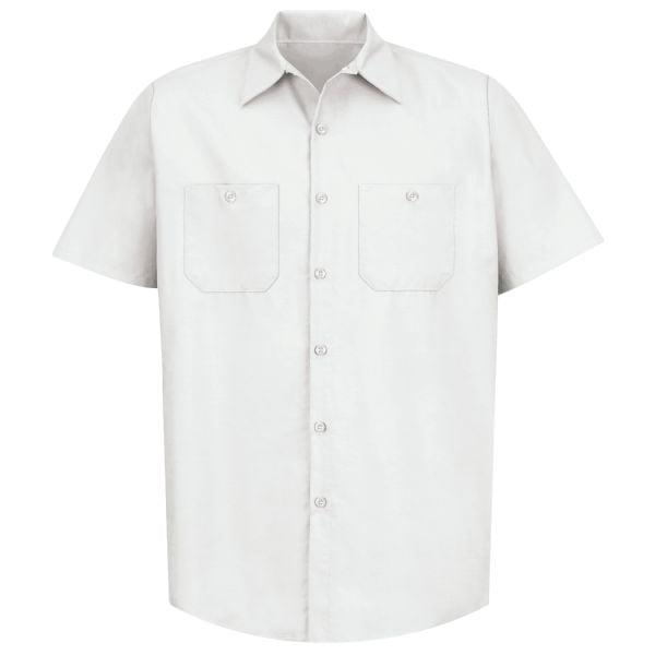 Men's Industrial Work Shirt Short Sleeve