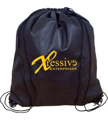 Jumbo Non Woven Drawstring Backpack