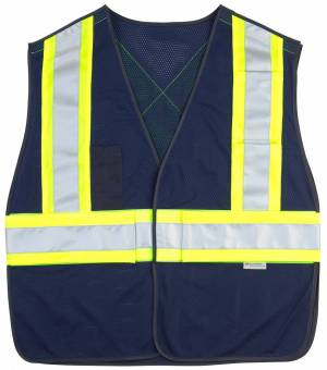 5 Point Tearaway Hv Mesh Vest