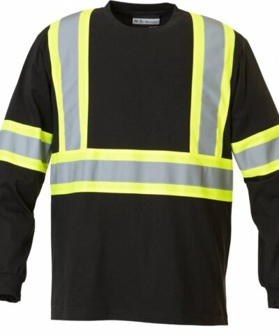 Safety Cotton Long Sleeve T-shirt