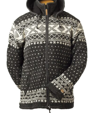 Unisex Wool Cardigan