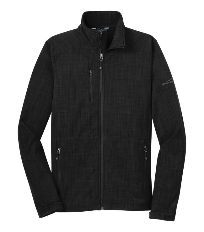 Eddie Bauer® Shaded Crosshatch Soft Shell Jacket