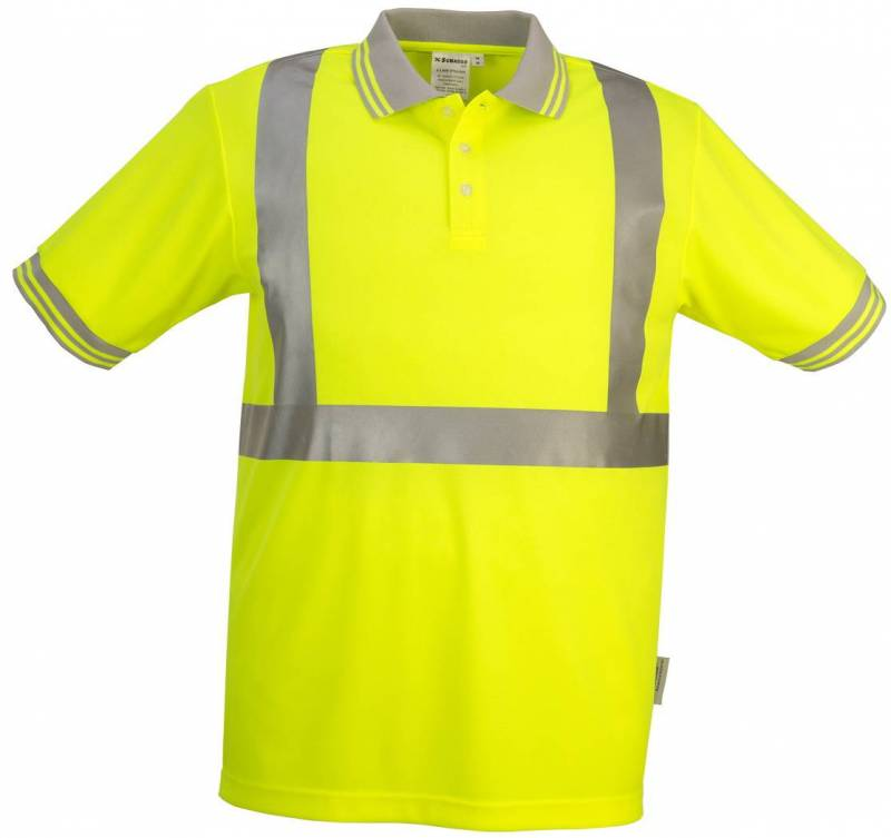High Visibility Wicking Polo Shirt
