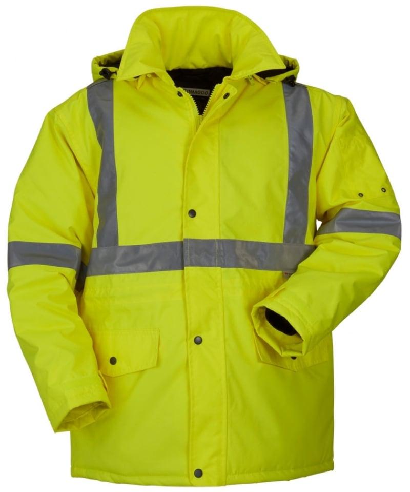 High Visibility Winter Parka Jacket