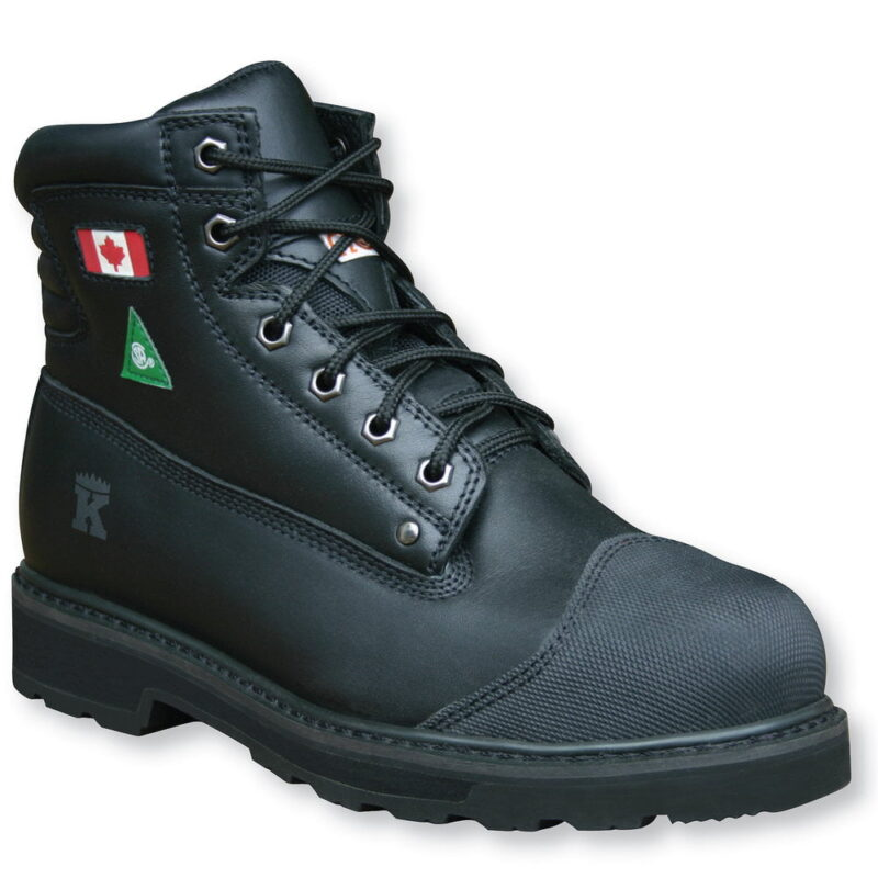 "Comfort King Steel Toe 6"" Work Boot"