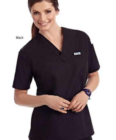 V-neck Unisex Scrub Top