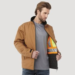 Zircon Men's Hi Vis Reversible Jacket