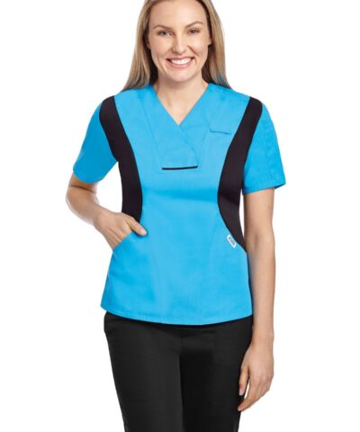 Active Flexi V-neck Scrub Top