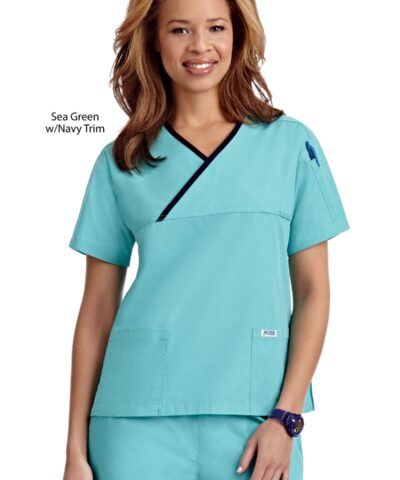 Criss Cross Scrub Top