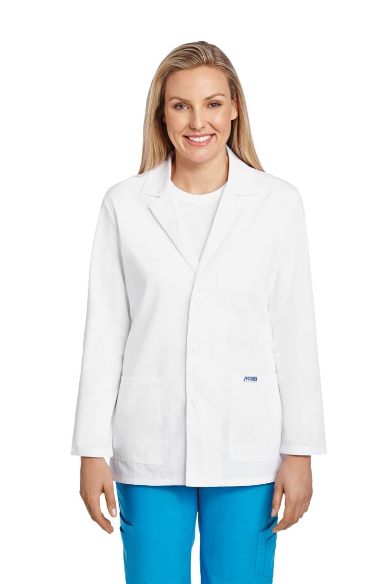 Unisex Half Length Lab Coat