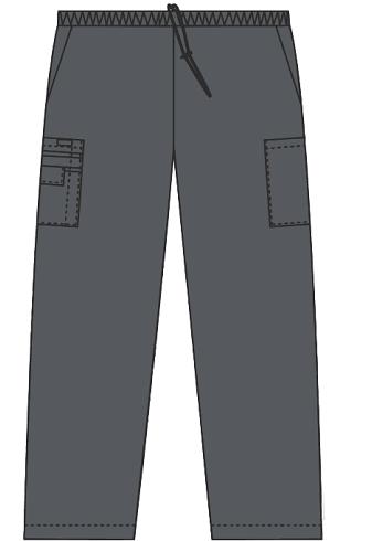 Mobb Tall Drawstring / Elastic Scrub Pant